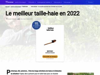 Détails : La référence web pour choisir son taille-haie