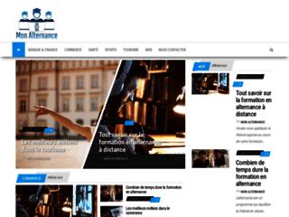 Détails : Mon Alternance, guide web sur les meilleures formations en alternance