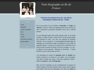 Détails : Votre biographe en Ile de France - Ecrire sa biographie, rédiger ses mémoires