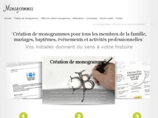 Détails : La Boutique des Monogrammes | Création de monogrammes