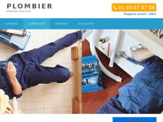 Des plombiers à votre service