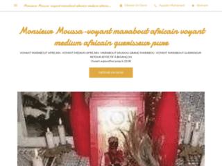 MONSIEUR MOUSSA-VOYANT MARABOUT,VOYANT MEDIUM,MARABOUT AFRICAIN,MARABOUT GUERISSEUR À LAUSANNE,GENEVE,SION,BÂLE