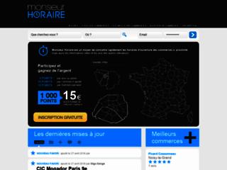 Détails : Monsieurhoraire.com : Un outil adapté à tous types de profils