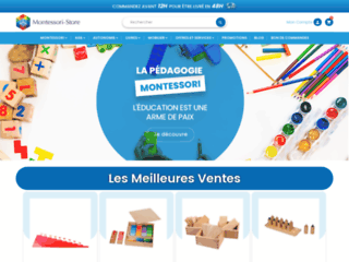 Détails : Montessori Store, la boutique de l'éducation