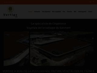 Société de végétalisation de murs et toitures