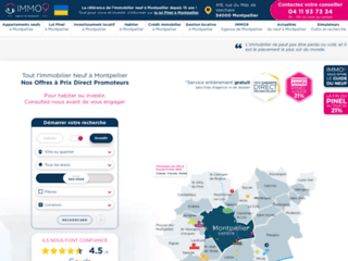 Détails : IMMO9 : agence immobilière à Montpellier