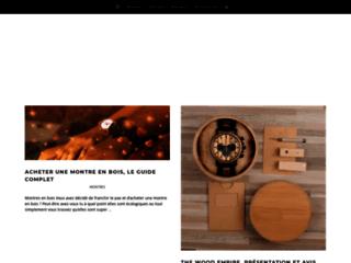 Détails : Montres-bois.com, montre en bois pour homme et femme