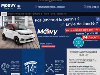 Aixam Moovy - Voitures sans permis à Tours