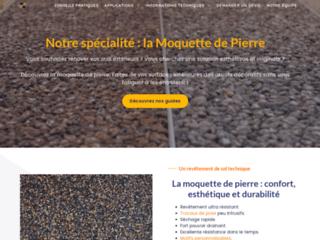 Détails : Moquette Pierre, moquette de pierre et de marbre