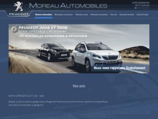 Détails : Concessionnaire Peugeot à Pontorson : Moreau Automobiles