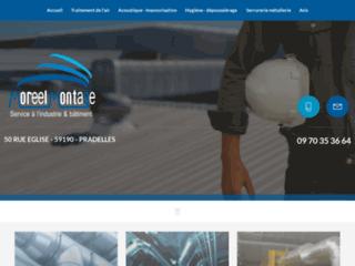 Détails : Montage industriel