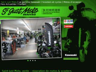 Détails : Vente de motos, scooters et cyclo dans l'Oise : Saint Just Moto