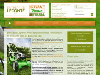 Détails : Entreprise Leconte : vente de matériel de jardinage Oise (60)