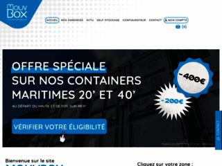MouvBox France, Spécialiste en vente de conteneurs maritimes