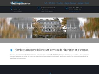 Plombiers Boulogne-Billancourt : Services de réparation et d'urgence