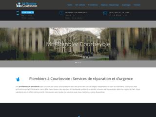 Service de plomberie de l'artisan Courbevoie