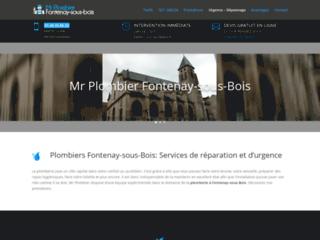 Urgence plomberie à Fontenay-sous-Bois