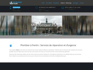 Mr Plombier Pantin: entreprise de plomberie à Pantin