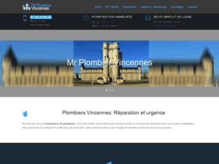 Dépannage urgence plomberie à Vincennes