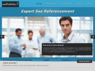 Prestation de referencement de site internet