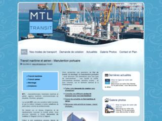 Détails : MTL, transport et transit maritime ou aérien, France et international