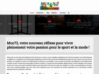 Muc72 magasin de sport en ligne