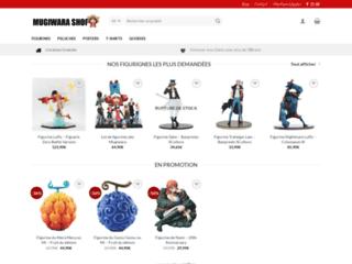 Mugiwara, boutique en ligne d'objets de personnages animés