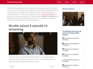 Murder Streaming, tous les épisodes de la série Murder
