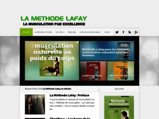 Détails : Musculation avec la Méthode lafay