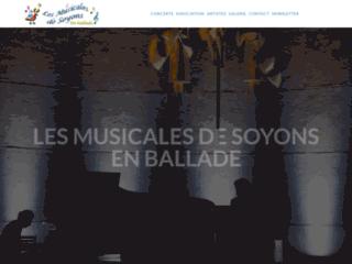 Les musicales de Soyons en ballade