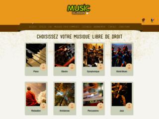 Détails : Music Screen: Librairie de musique libre de droit