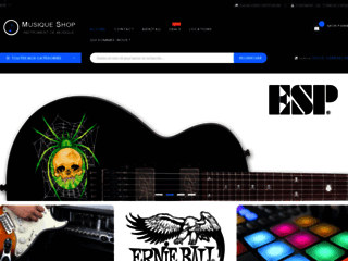 Achat instruments de musique en ligne