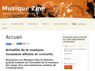 Détails : Actualité musicale