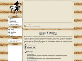 Détails : Musique et Interprète : De nombreuses ressources musicales