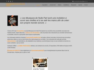 Détails : Nicolas Bras / Musiques de Nulle Part