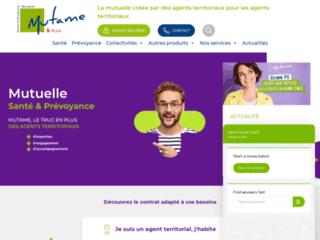 Mutame & Plus | Mutuelle santé prévoyance des agents territoriaux