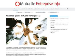 Mutuelle Entreprise Info