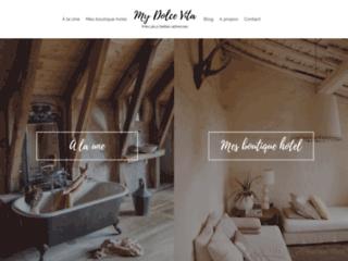 My Dolce Vita, boutiques hôtels pour votre relaxation en France
