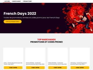Les informations sur French Days 2019