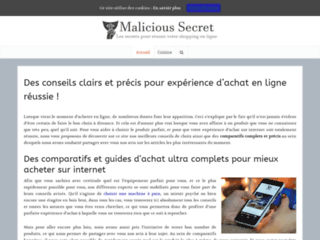 Myliciousecrets.fr