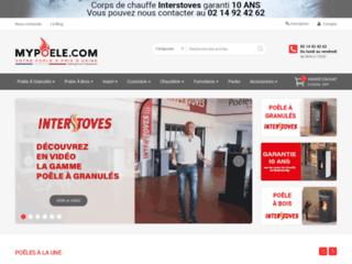 Détails : Boutique de poêles à bois et à granulés