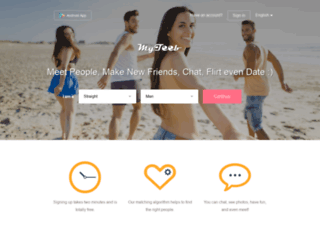Website's thumnail : MyTeeb - Dating App to Chat Date & Meet New People