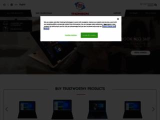Détails : Les produits audio et vidéo de la marque THOMSON
