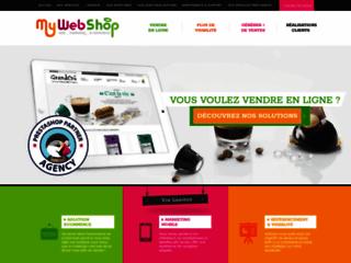 Détails : Agence web MyWebShop