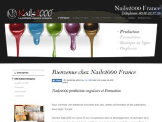 Détails : Nails2000 : Prothésie ongulaire