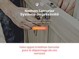 Nathan Serrurier, votre spécialiste de serrurerie