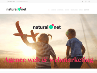 Natural net: agence assurant des services Webmarketing
