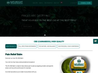 Natureight CBD - Cosmétique et compléments alimentaires au CBD