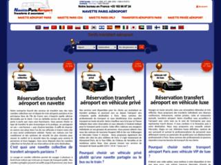 Détails : Transfert Navette Collective Paris Aéroport