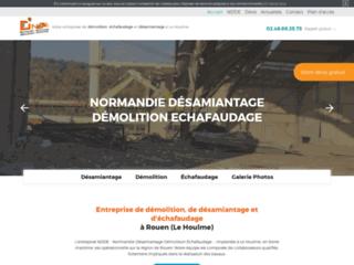 NDDE : entreprise de démolition, de désamiantage et d'échafaudage à Rouen